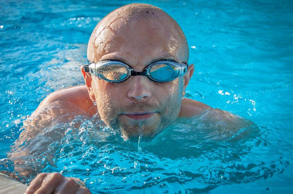 Osvěžující plavání