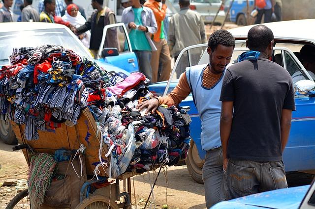 africký prodavač