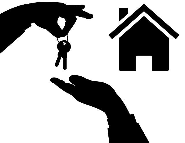 předání klíčů u domu